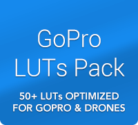 GoPro LUTs Color Grading Pack by IWLTBAP